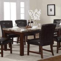 Temple-Dining Table and Chairs